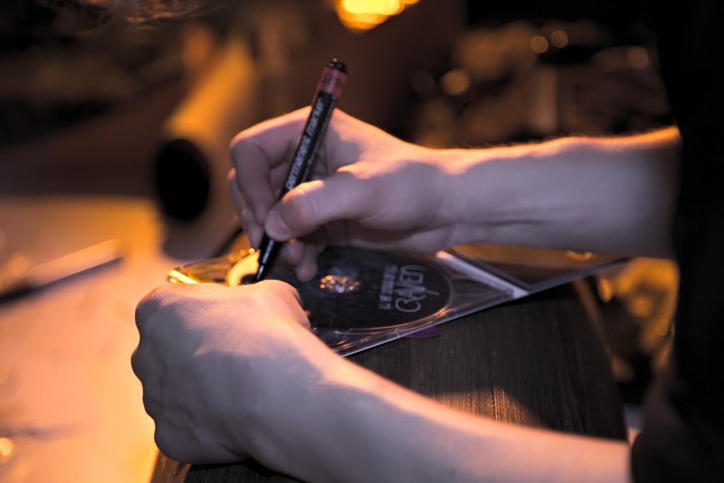 CD signieren